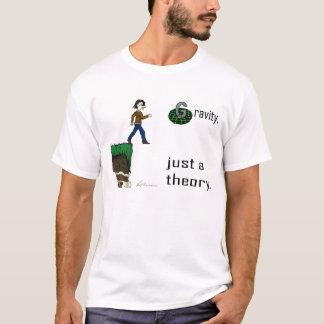 Gravedad, apenas una teoría. (Camisa de la versión Playera