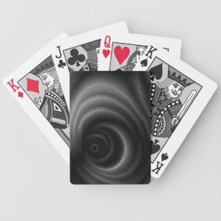 Gravedad negra barajas de cartas