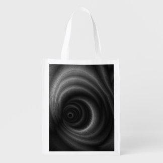 Gravedad negra bolsas para la compra