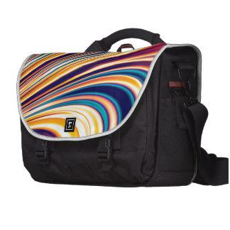 Gravedad solar y magnetismo abstractos 5 del color bolsas de portátil