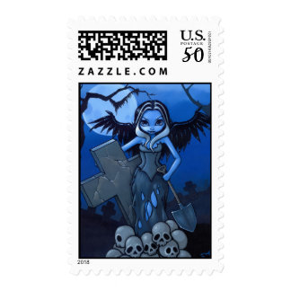 """Gravedigger"" Stamp"