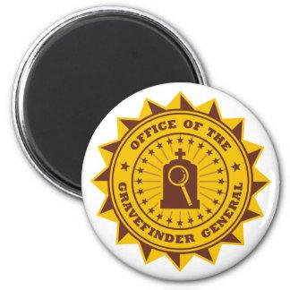Gravefinder General 2 Inch Round Magnet