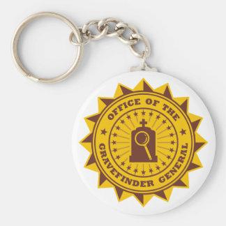 Gravefinder General Basic Round Button Keychain