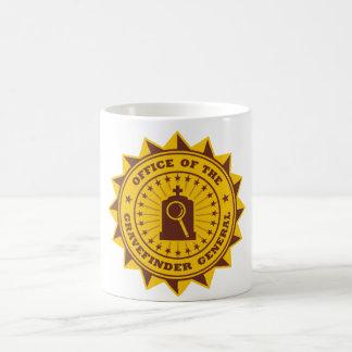 Gravefinder General Classic White Coffee Mug