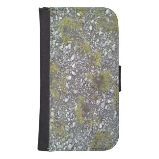 Gravel and grass phone wallet