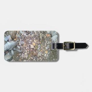 gravel and stone bag tag