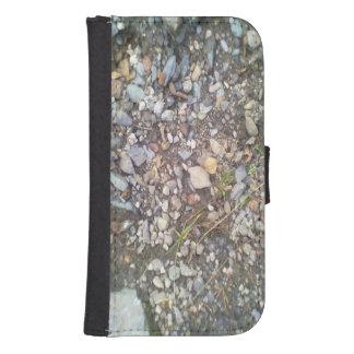 gravel and stone phone wallet case