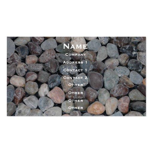 Gravel Business Card
