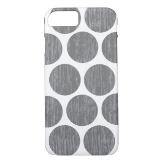 Gravel Gray Distressed Polka Dot iPhone 7 iPhone 8/7 Case