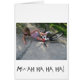 gravel gremlins greeting card