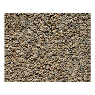 Gravel & Sand Photo v3 Poster