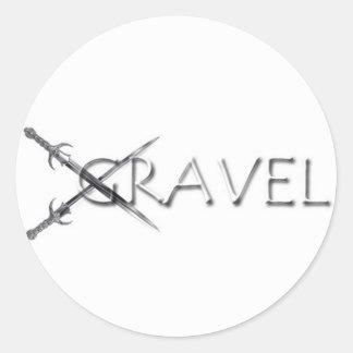 Gravel Sticker