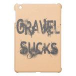 Gravel Sucks gray iPad Mini Case