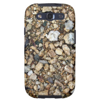 Gravel Texture with Tiny Plants Samsung Galaxy S3 Case