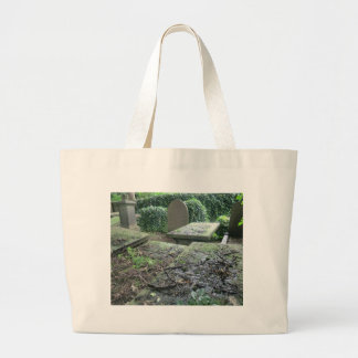 Graves at Haworth Churchyard in Yorkshire Tote Bag