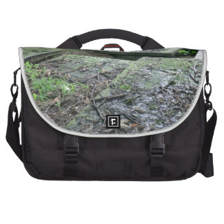 Graves at Haworth Churchyard in Yorkshire Laptop Bag