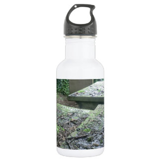Graves at Haworth Churchyard in Yorkshire Water Bottle