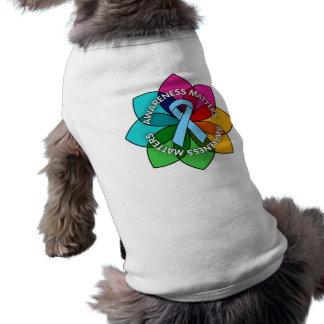 Graves Disease Awareness Matters Petals Doggie T Shirt