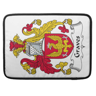 Graves Family Crest MacBook Pro Sleeve
