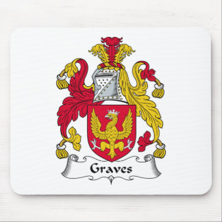 Graves Family Crest Mouse Pad