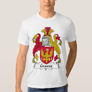 Graves Family Crest T Shirts