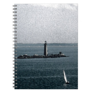Graves Light in Boston Harbor Notebook