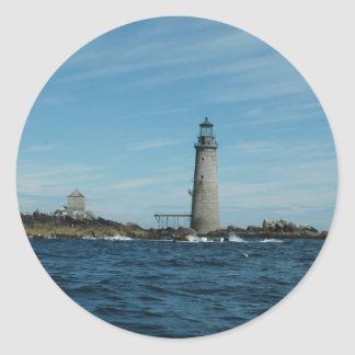 Graves Light Round Stickers