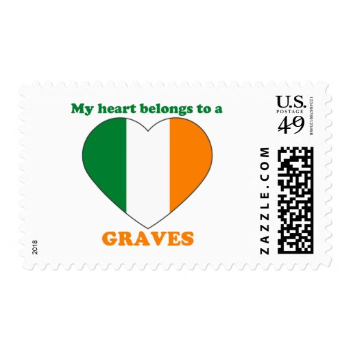 Graves Postage Stamps