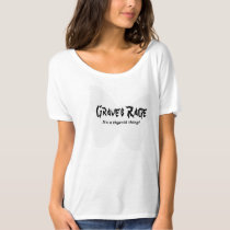 Graves Rage Women's Front/Back Design Small-2X T-Shirt