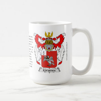 Graves, the Origin, the Meaning and the Crest Classic White Coffee Mug