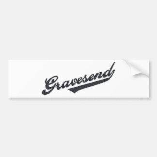 Gravesend Car Bumper Sticker
