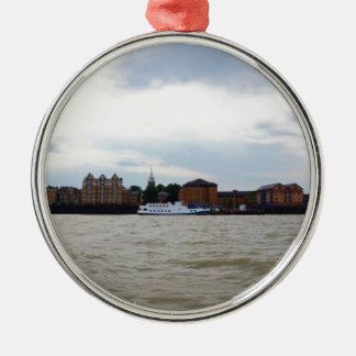 Gravesend In Kent. Metal Ornament