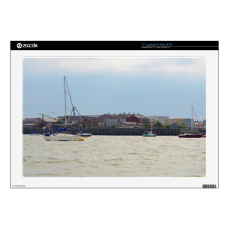 Gravesend Sailing Club Moorings Decal For Laptop
