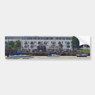 Gravesend Sailing Club Yachts Bumper Sticker
