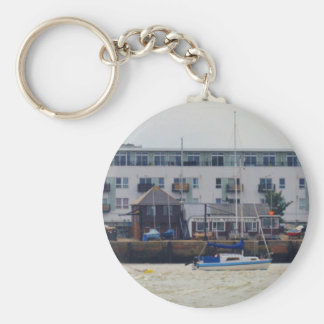 Gravesend Sailing Club Yachts Key Chain