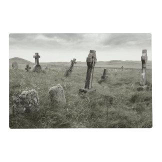 Gravesite misterioso tapete individual