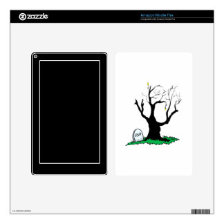 Gravestone dead tree big trunk skins for kindle fire