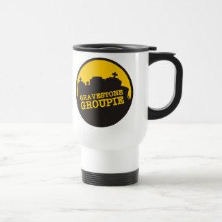Gravestone Groupie 2 15 Oz Stainless Steel Travel Mug