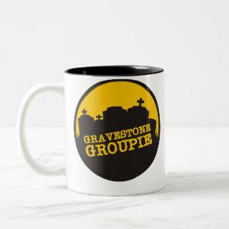 Gravestone Groupie 2 Two-Tone Coffee Mug