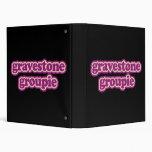 Gravestone Groupie 3 Ring Binder