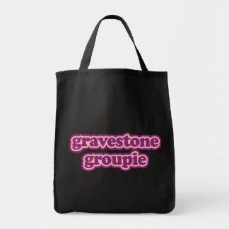 Gravestone Groupie Canvas Bag