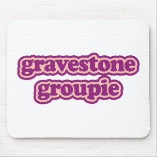 Gravestone Groupie Mouse Pads