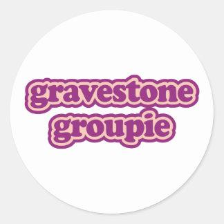 Gravestone Groupie Sticker