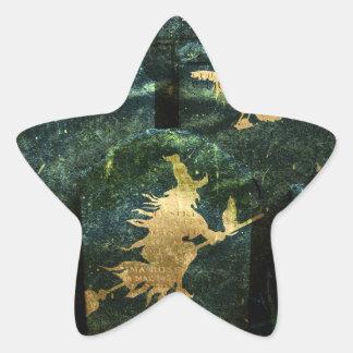 Gravestone Hell Star Sticker
