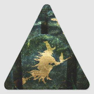 Gravestone Hell Triangle Sticker