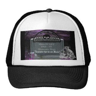 GraveStone Skull Scene Baseball Hat