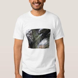 Graveyard Angel Blur with Trees Shirt