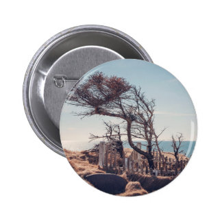 Graveyard by the sea 2 inch round button