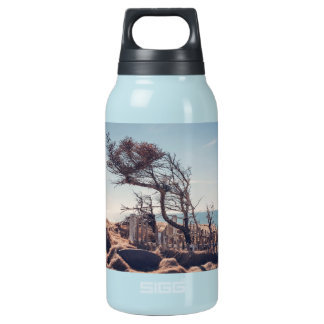 Graveyard by the sea insulated water bottle