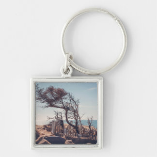 Graveyard by the sea keychain